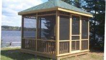 Enclosed Gazebo Plans Ideas