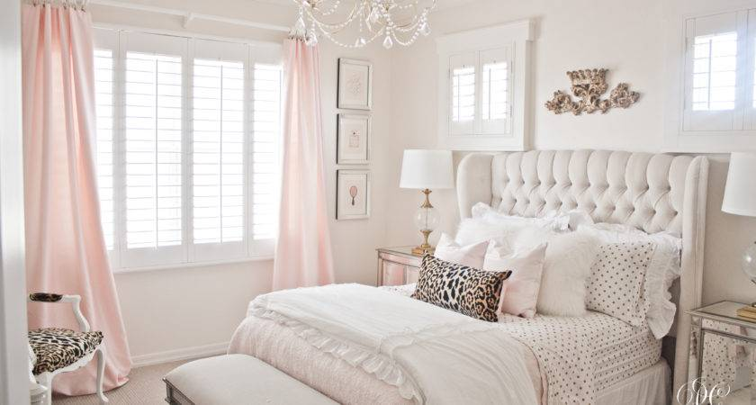 Epic Pink White Gold Bedroom Additional Home