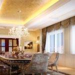 European Style Luxury Dining Room Ideas
