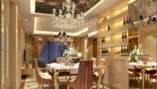 European Style Luxury Living Dining Room