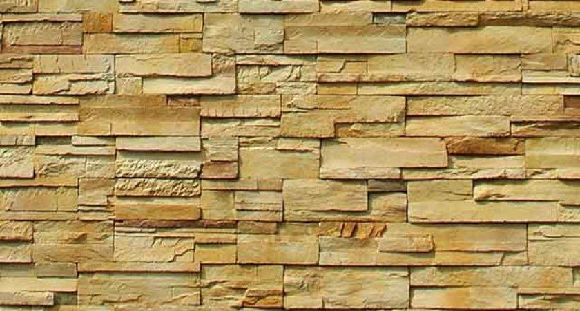 Example Natural Very Decorative Stone Wall
