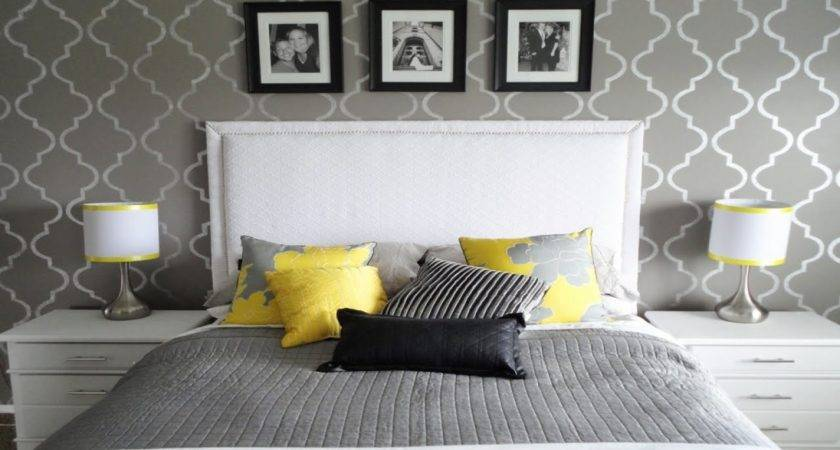 Excellent Grey Yellow Bedroom Decor Your Home