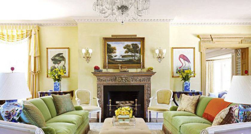 Exciting Living Room Ideas Contemporary Yellow