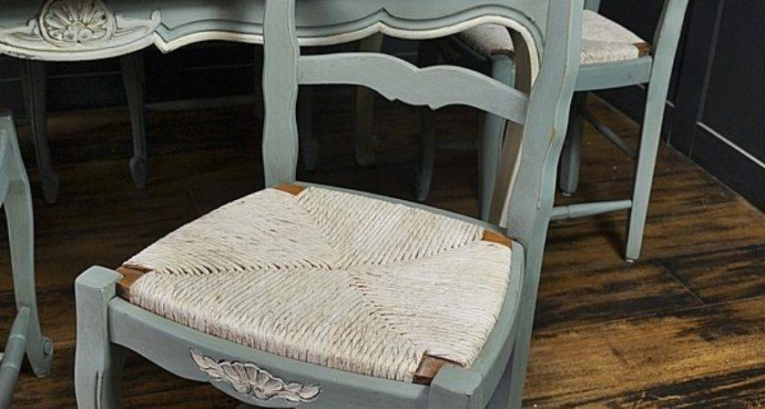 Extending Shabby Chic French Louis Dining Table