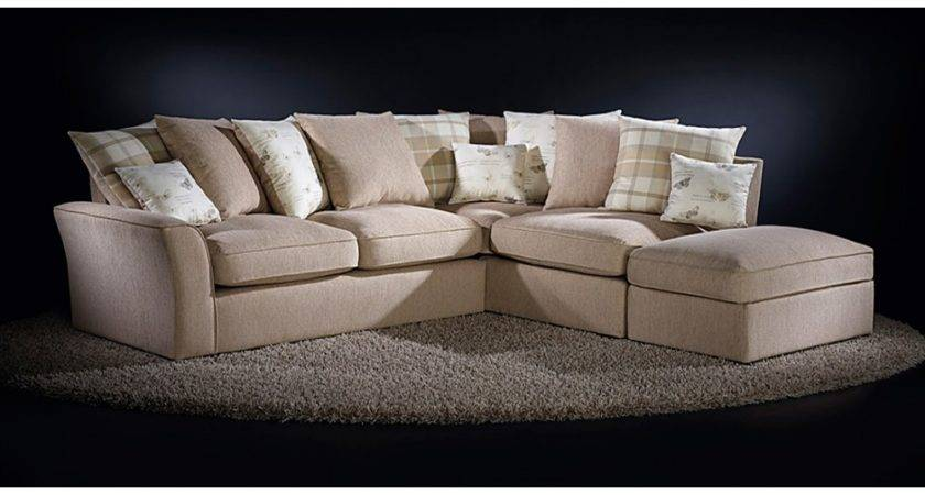 Fabric Corner Sofa Small Living Room Pic