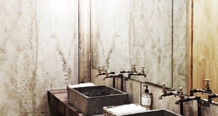 Fabulous Bathrooms Industrial Style Rustic