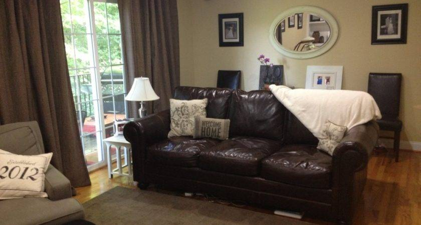 Fabulous Chocolate Brown Leather Couch Decorating Ideas