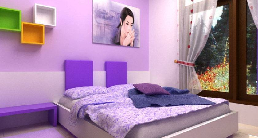 Fabulous Purple Bedrooms Interior Designs Ideas Fnw