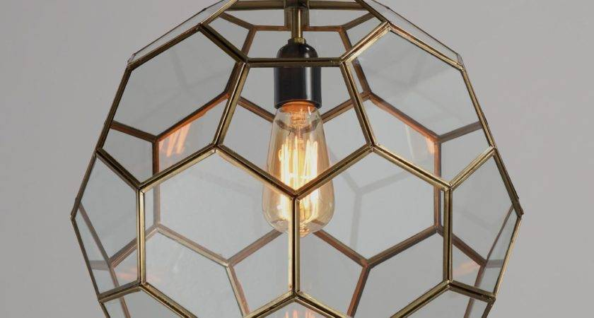 Faceted Glass Paxton Pendant World Market
