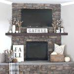 Fall Decor Ideas Your Fireplace Mantle