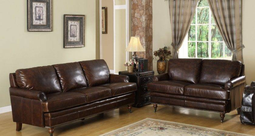 Fantastic Chocolate Brown Leather Couch Decorating Ideas