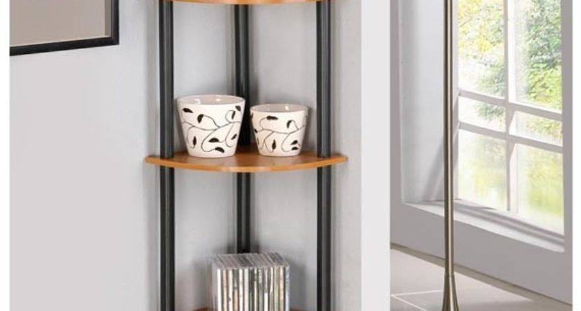 Fascinating Corner Shelves Get Most Out Your Space