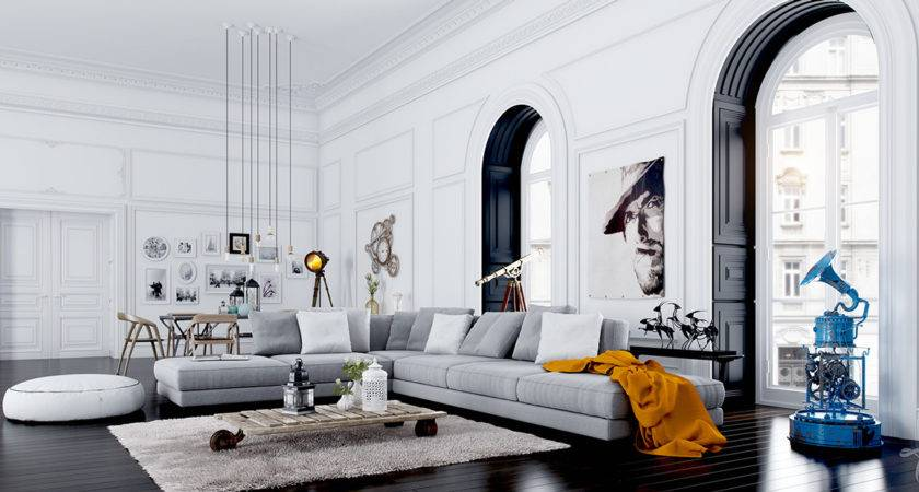 Fascinating Scandinavian Living Room Designs Combined