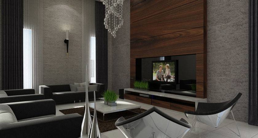 Feature Wall Lounge Ideas Interior Design