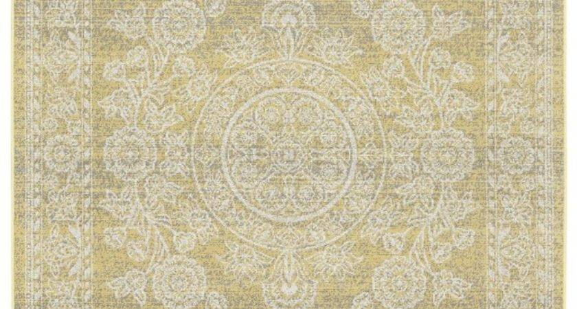 Feizy Rugs Area Seymour Collection Yellow Cream