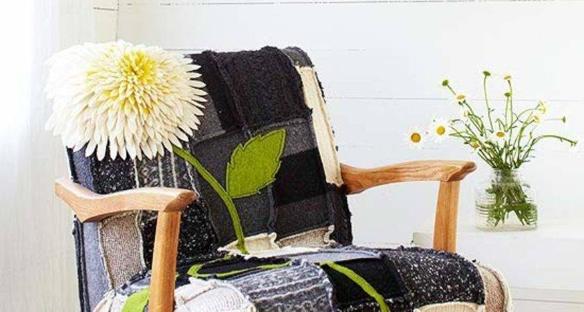 Felted Patchwork Chair Cover Better Homes Gardens