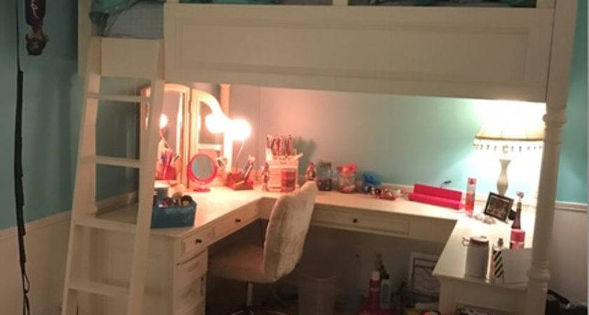 Find More Pottery Barn Teen Chelsea Vanity Loft Bed