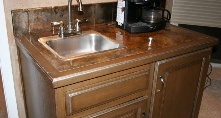 Finishing Acts Faux Cabinetry Countertop