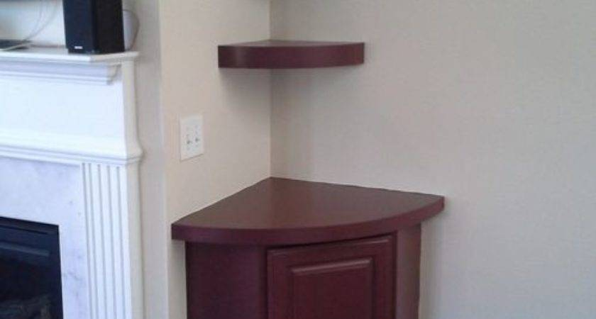 Fireplace Built Ins Staggered Floating Shelves