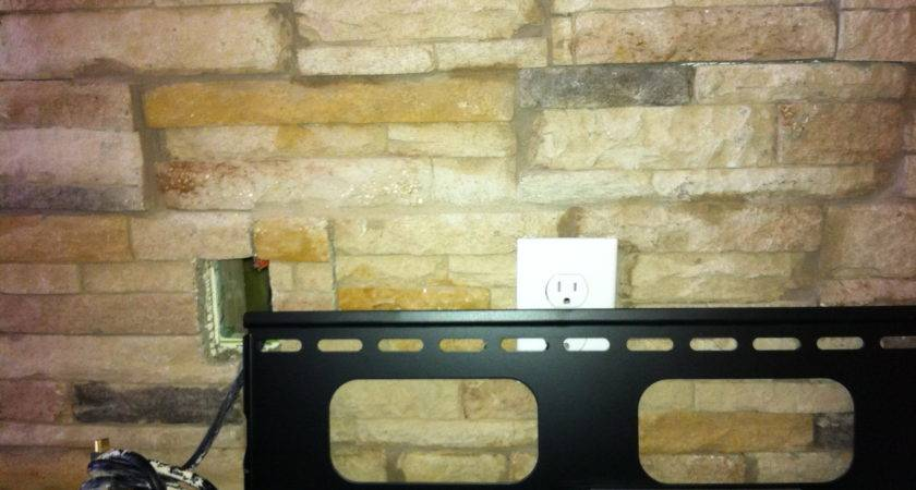 Fireplace Stone Mantels Mounting Above