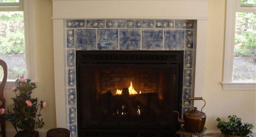 Fireplace Surrounds Cream Marble Panel
