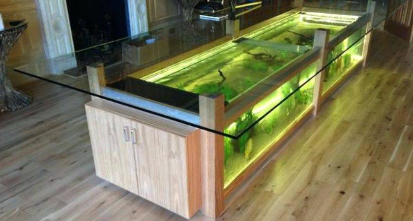 Fish Tank Dining Room Table