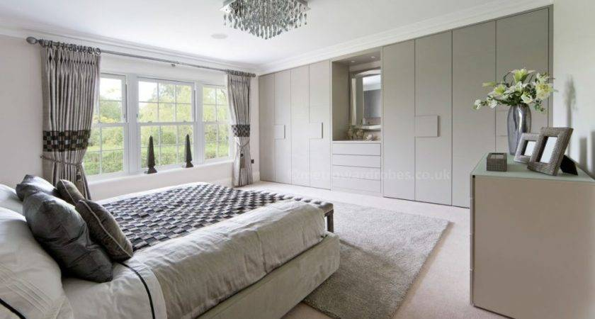 Fitted Bedroom Wardrobes Endorse Stunning Smart Storage