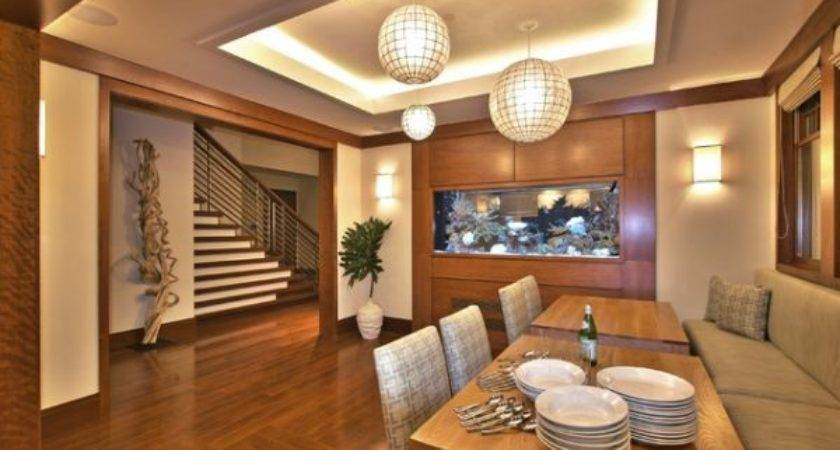 Five Fish Themed Dining Room Design Ideas