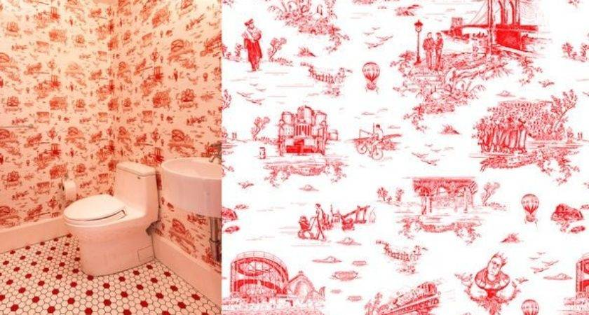 Flavor Paper Makes Brooklyn Toile Wallcoverings New