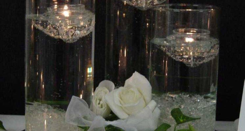 Floating Candlesjpg Olivia Jesse Wedding Blog