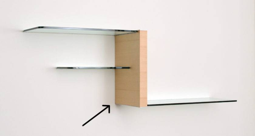 Floating Glass Shelves Intended Wall Units Shelving