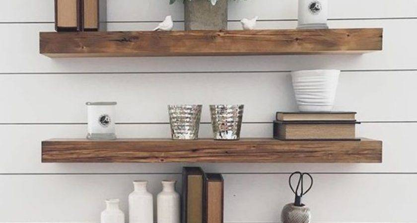 Floating Shelves Ideas Different Rooms Digsdigs
