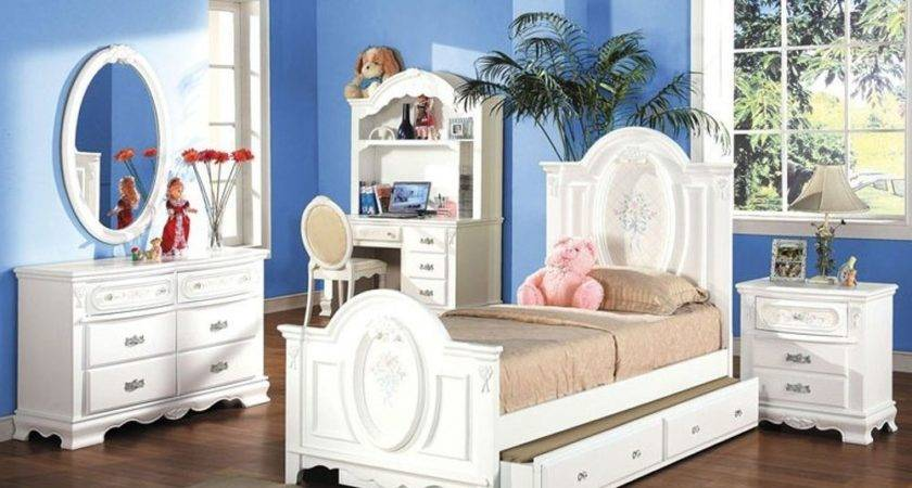 Flora Collection Girls Youth Room Bedroom Set Twin