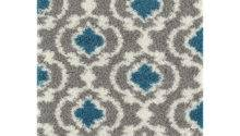 Florida Gray Turquoise Area Rug Wayfair