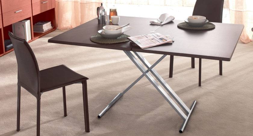 Folding Dining Table Small Room Solution