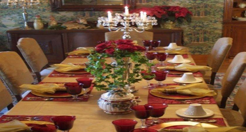 Formal Dining Table Decorating Ideas Room