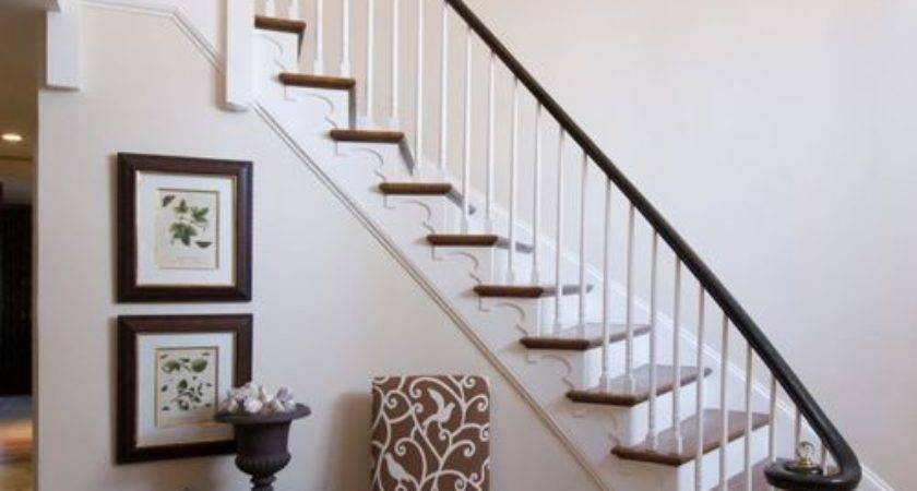 Foyer Stairs Home Design Ideas Remodel