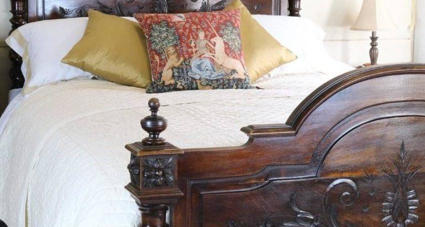 French Chateau Bed Walnut Stdibs