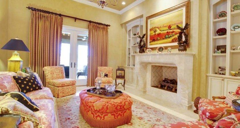 French Country Living Room Home Design Ideas
