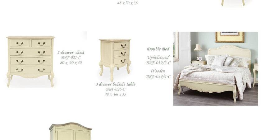 French Country White Headboards Bedroom Furniture Home
