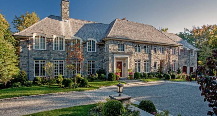 French Provincial Stone House Harrison