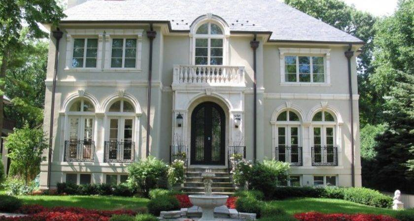 French Style Homes Architecture Interior Design Ideas
