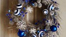 Fresh Blue Christmas Decorating Ideas Holiday