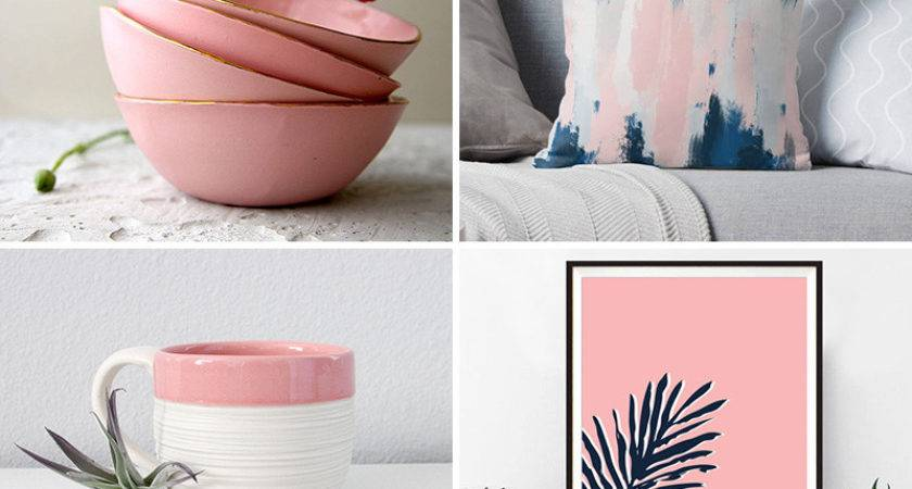 Freshen Your Home Decor Blush Pink Accents
