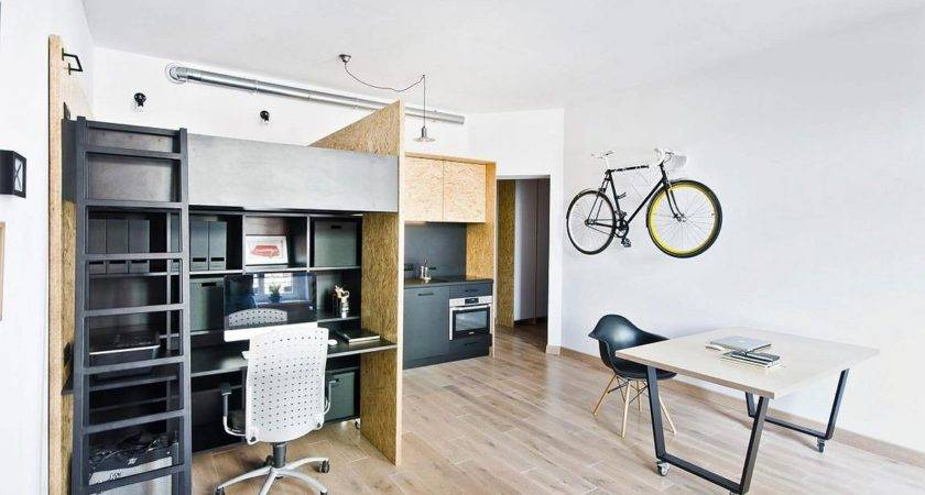 Friendly Multifunctional Design Studio Apartment