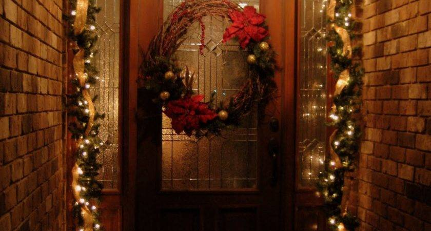Front Door Christmas Decorations Ideas