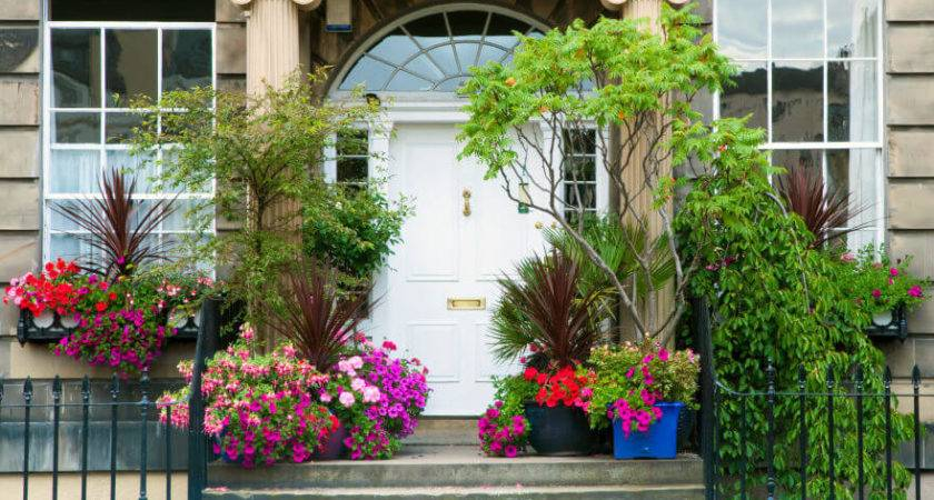 Front Door Flower Plant Ideas