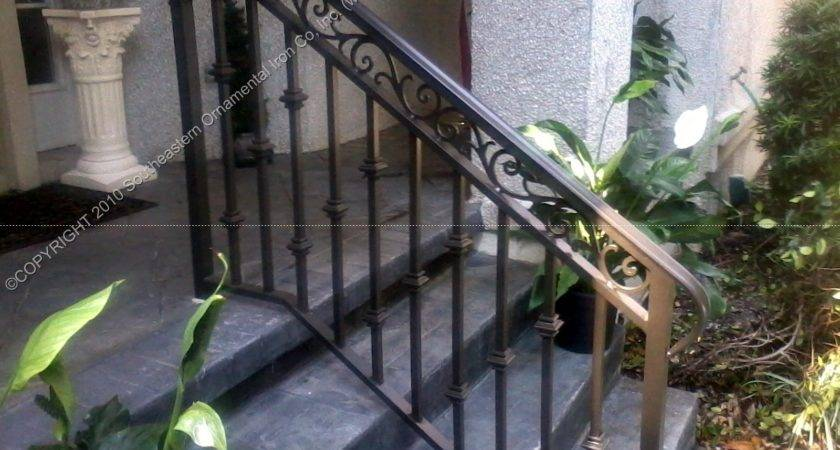 Front Porch Wrought Iron Railings