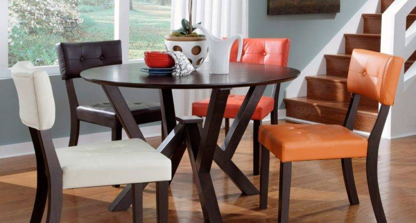 Fun Multi Colored Dining Chairs