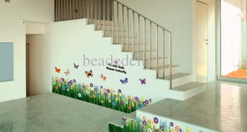 Funlife Inremovable Butterfly Flower Living